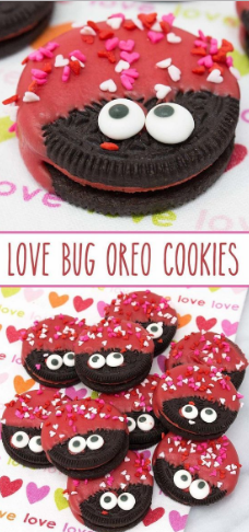 LOVE BUG OREO COOKIES