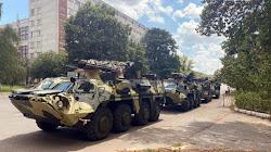 Quân đội Ukraine tiếp nhận 4 xe bọc thép BTR-4E mới