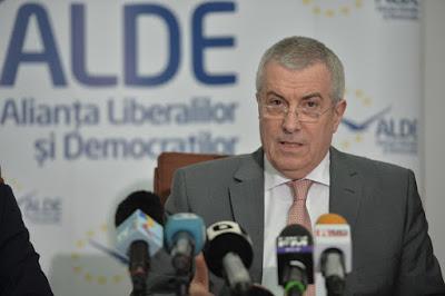Călin Popescu Tăriceanu, román szenátus, OUG 13, OUG 14