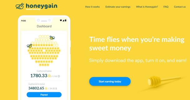 شرح تطبيق HoneyGain لربح المال بدون مجهود فقط استخدم الإنترنت