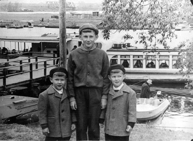 1960-е годы. Рига. Пристань на Югле