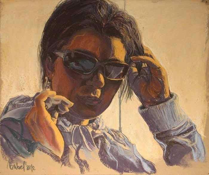 Robert Bubel, польский, художник, абстракция