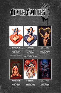 Vampriella: Valentine's Day Special #1 cover gallery page 2
