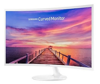 Monitor PC SAMSUNG 32 Inch Curved LED C32F391FWE