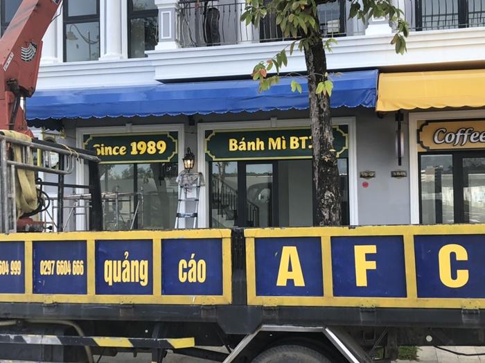 Làm bảng hiệu quảng cáo- Bảng hiệu Alu chữ nổi tại Phú Quốc