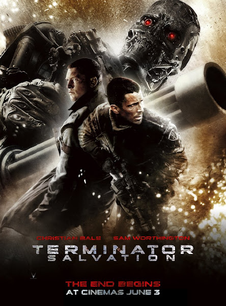 Poster Of Terminator Salvation 2009 720p Hindi BRRip Dual Audio Full Movie Download