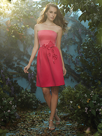 Bridesmaids Dresses by Alfred Angelo and Disney's Fairy Tale Weddings