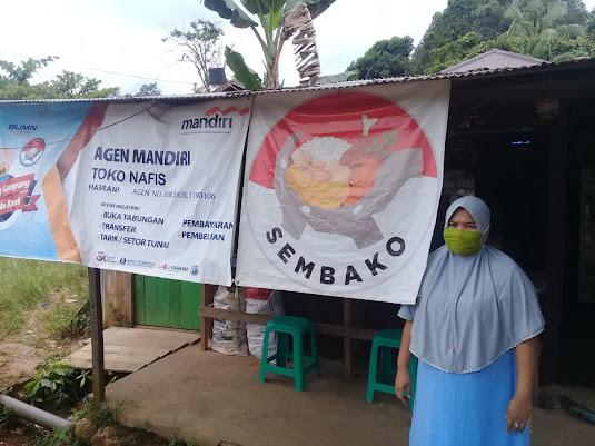 Toko NAFIS HASRANI Agen Sembako Penyalur PKH dan BPNT Layani 10 Desa