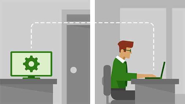 Biasanya orang menyebut aplikasi Remote Desktop sebagai perangkat lunak yang memungkinkan pengguna untuk terhubung ke komputer di lokasi lain, melihat desktop komputer dan berinteraksi dengannya seolah-olah berada di lokal. Singkatnya, aplikasi Remote Desktop melakukan koneksi 1-by-1 antara workstation dan workstation lain, yang bisa berupa perangkat seluler.