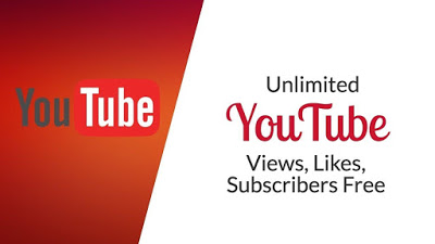 Get free Unlimited YouTube Subscribers, Views and Likes