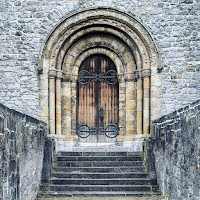 Pictures of Ireland: Door to St. Mary's Cathedral in Limerick