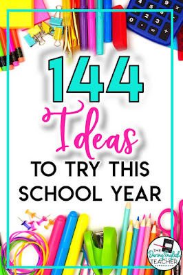 144 Teaching Ideas to Try This Year: Secondary ELA