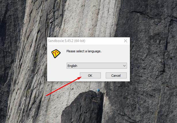 Cara mudah install sandboxie