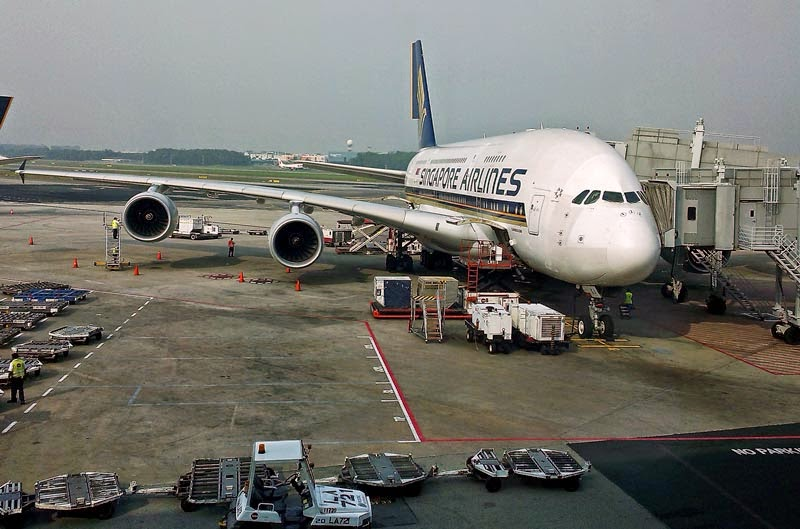 Airbus A380 of Singapore Airlines