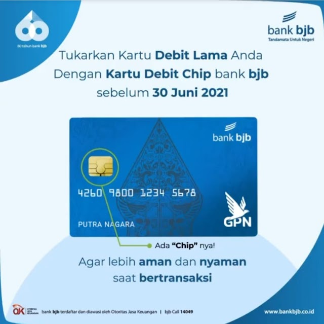 Demi Keamanan Bertransaksi,  Nasabah bank bjb Segera Perbaharui Kartu ATM Sebelum 30 Juni 2021
