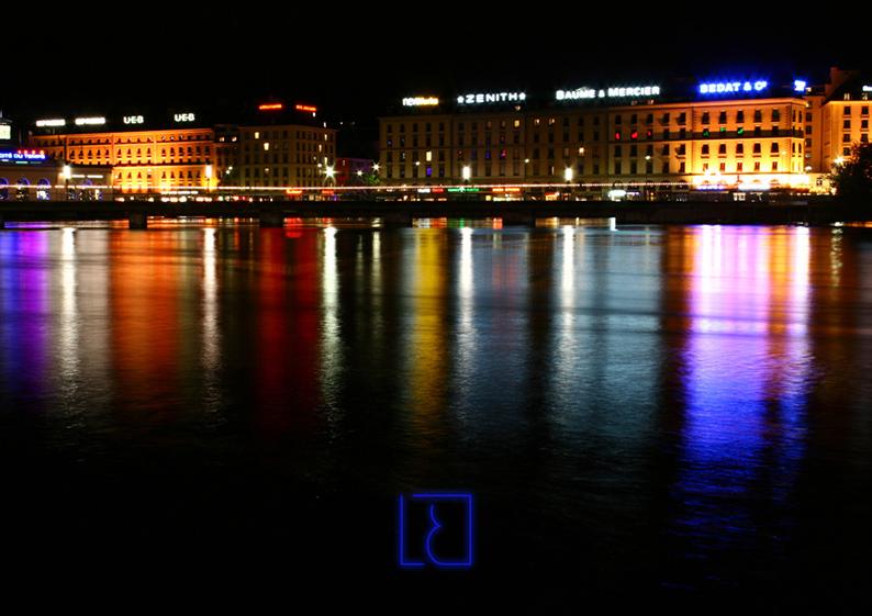 ville nuit lumière
