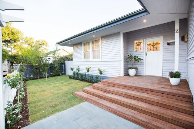 rumah kayu yang nyaman