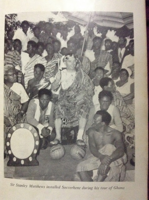 When Sir Stanley Matthews came to Ghana