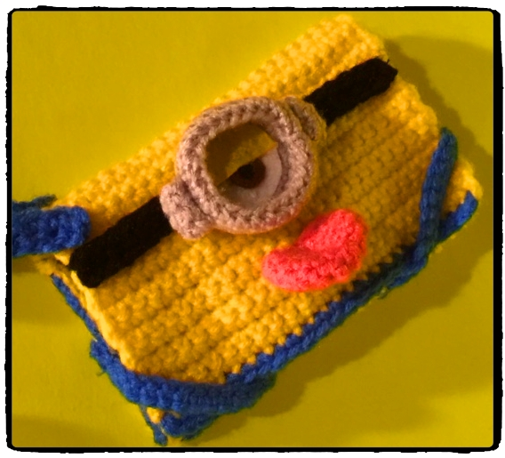 Crochet Minion Bag Pattern : Connies Spot? Crocheting, Crafting, Creating!: Free ...