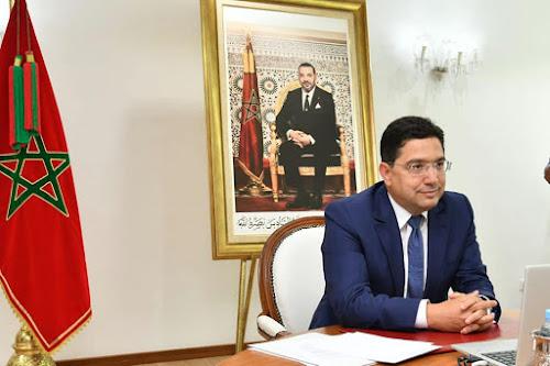 Nasser Bourita reçoit à Rabat le Lecoindre, Chef d'État-Major des Armées françaises