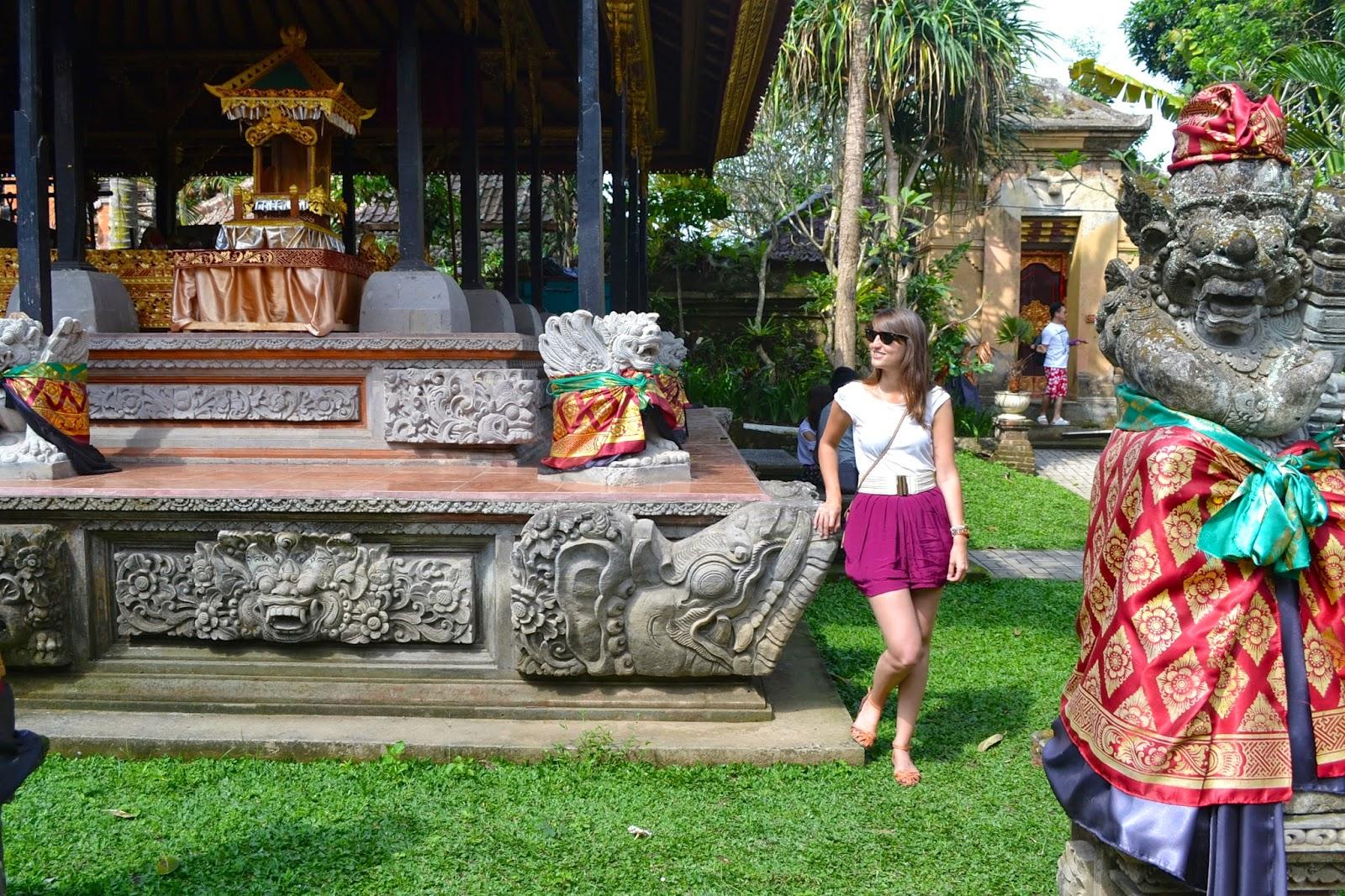 Palacio real de Ubud, Bali, Indonesia
