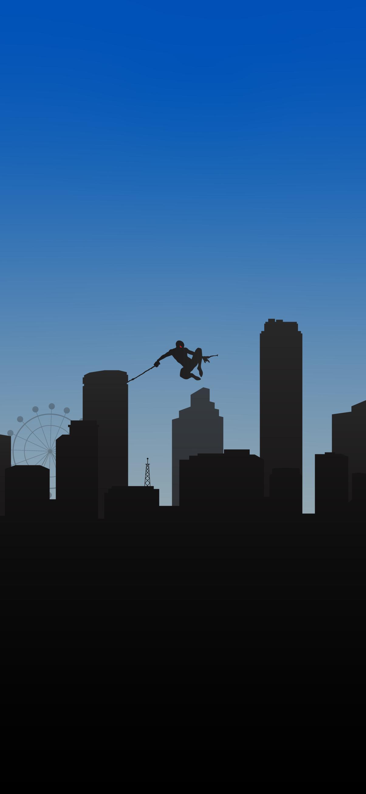 spider man minimalist wallpaper