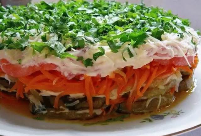 "салат ""Баклажанный рай"""