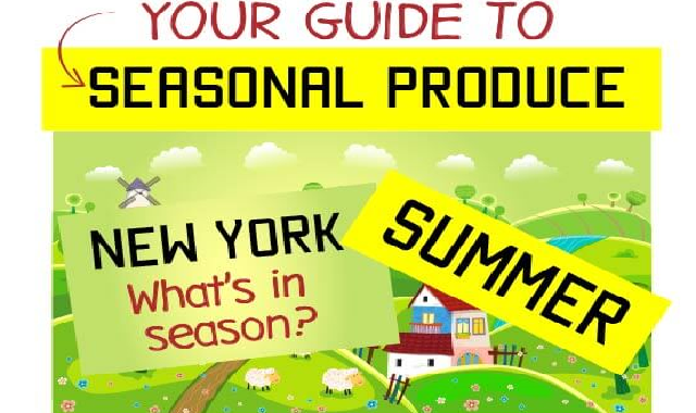 Your Guide to Seasonal Produce #infographic
