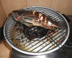 Cara Bakar Ikan Dorang Atas Kompor Gas Lpg