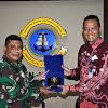 Jalin Kerjasama, Danlantamal VI Makassar  Terima Kunjungan Tim PT. Garuda Indonesia (Persero) Tbk