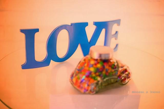 decoração - palavra love - letras mdf - detalhes