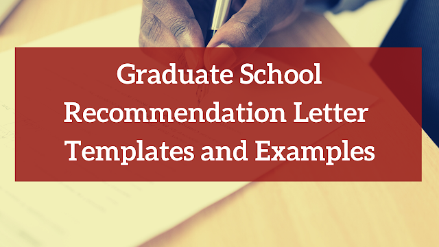 RECOMMENDATION LETTERS IN SCHOLARSHIP APPLICATIONS