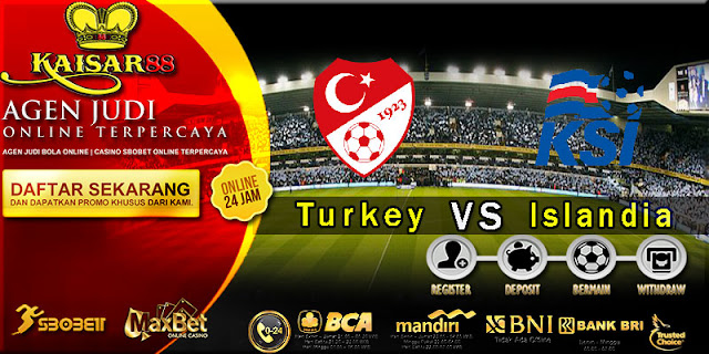 Prediksi Bola terpercaya World Cup Turkey VS Islandia 7 Oktober 2017