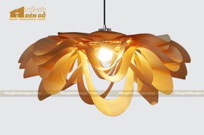 Thế Giới Đèn Gỗ - 8 mẫu đèn trang trí gỗ cho phòng ăn đẹp lung linh 22