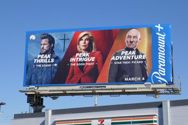 Peak Thrills Intrigue Adventure Paramount plus billboard