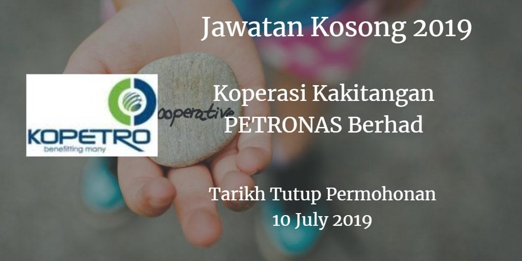 Jawatan Kosong KOPETRO 10 July 2019