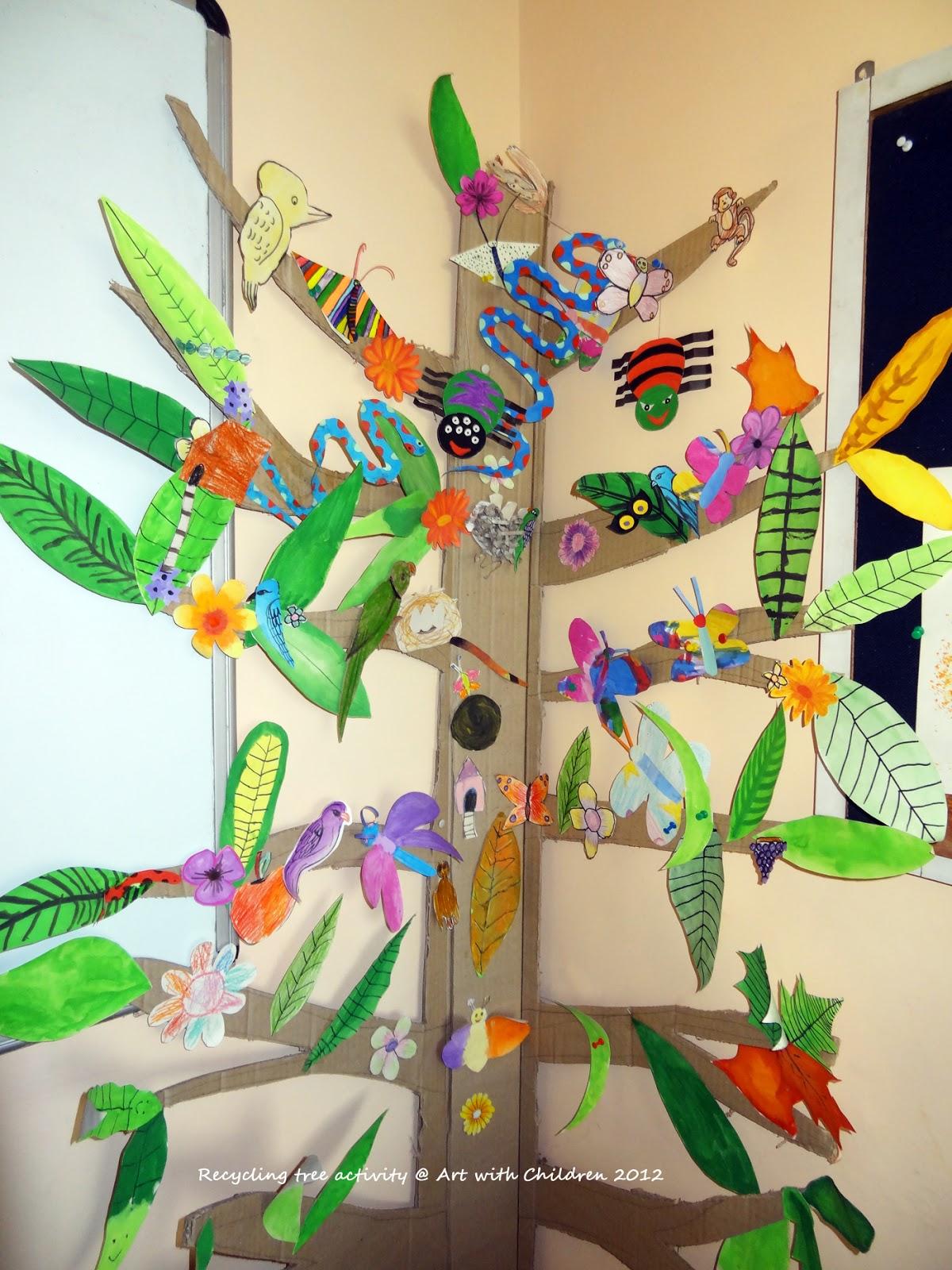 Recycling Tree Activity