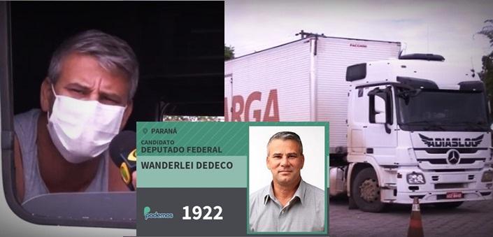Após seu exame para coronavírus dar negativo, Wanderlei Dedeco diz que Bolsonaro está louco