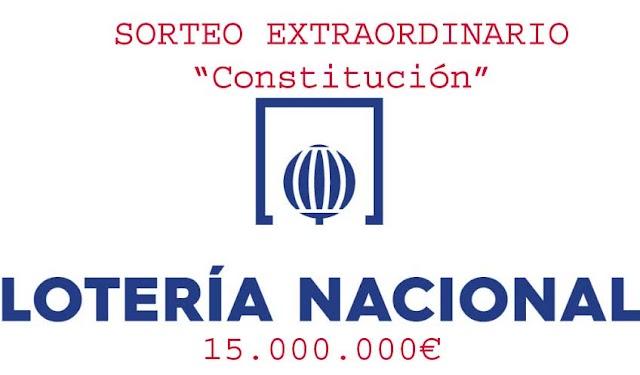 Lotería Nacional - Domingo 6 de diciembre de 2020, sorteo extraordinario Constitución