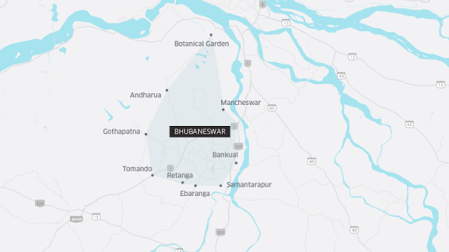 Uber Bhubaneswar Auto Coverage Area