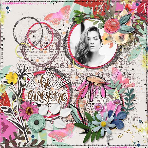 Artsy Farsty Digital Scrapbooking Templates