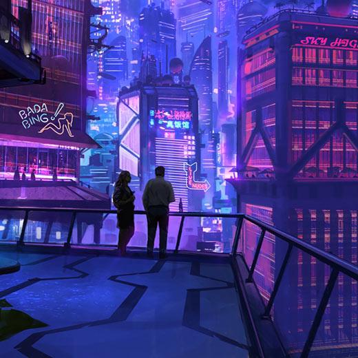Cyberpunk City 63 Wallpaper Engine