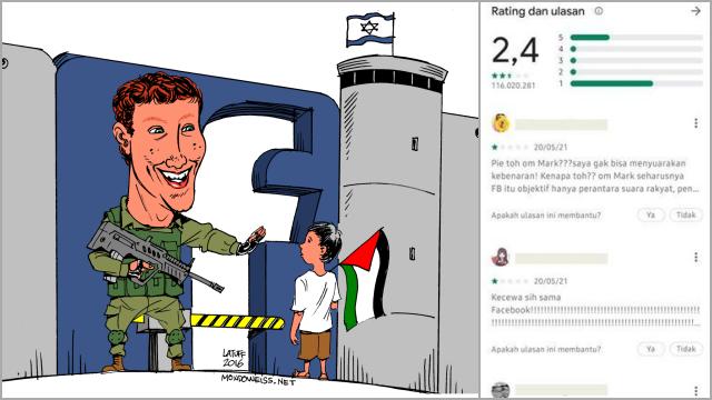 Blokir Konten Pro Palestina, Facebook Minta Maaf, Ngaku Ada Masalah Algoritma