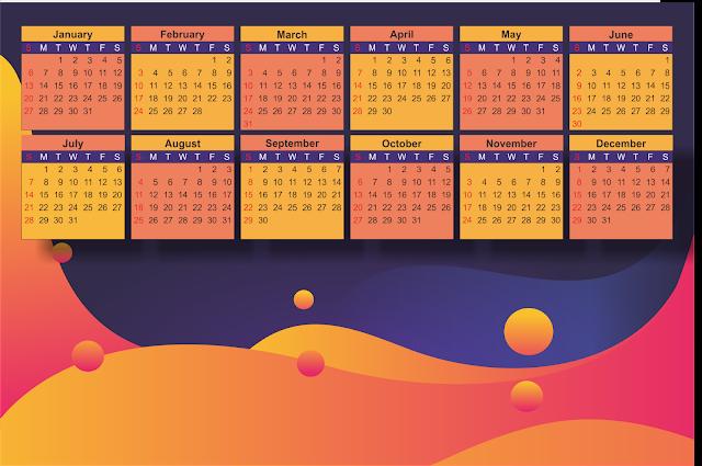template kalender