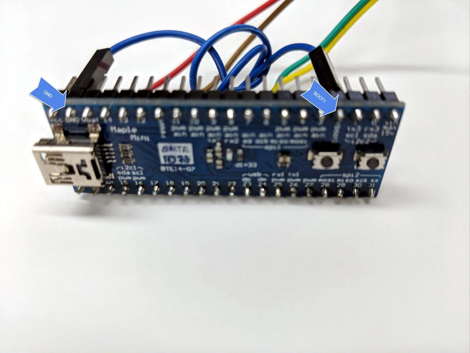 STM32 Flashing - 40% Keyboards
