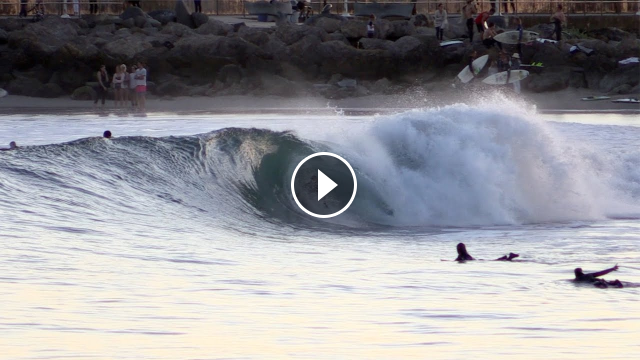 Sandspit Section From The Surfing Movie The Nino