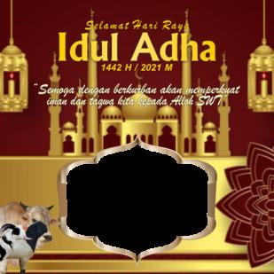 TEMPLETE TWIBBON IDUL ADHA 1442 H