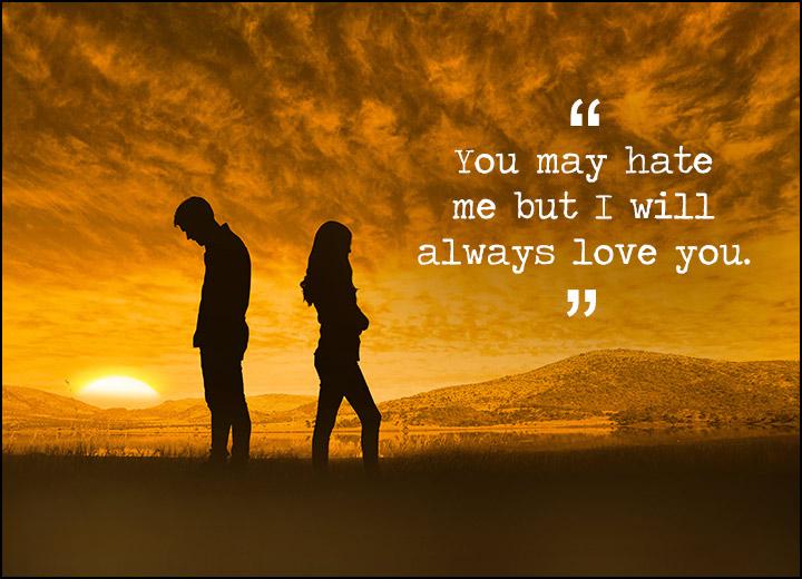 Hate You Messages For Ex-Boyfriend & Ex-Girlfriend