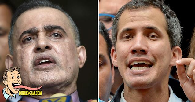Juan Guaidó acusa a Tarek William Saab de ser cómplice de los asesinos del FAES