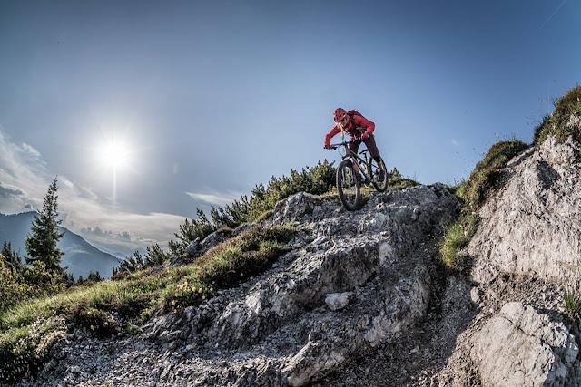 mountainbike tour auf den gaisberg in kirchberg bei kitzbühel
